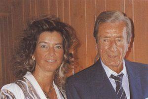 Dr. Petra Block mit ihrem Vater Dr. Siegfried Block